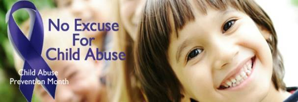 No Excuse for Child Abuse image of smiling girl