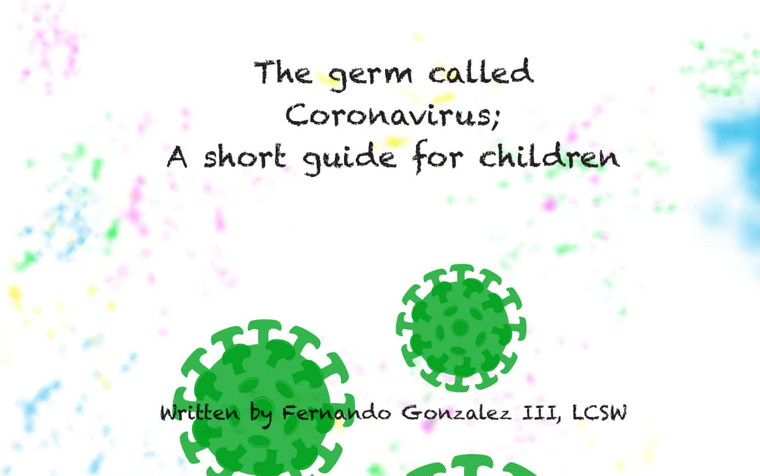 Image of germs and title of story
